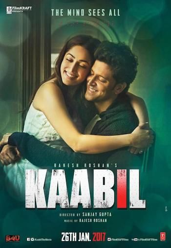 Kaabil 2017 Hindi 576p WEBRip x264 AAC 700MB