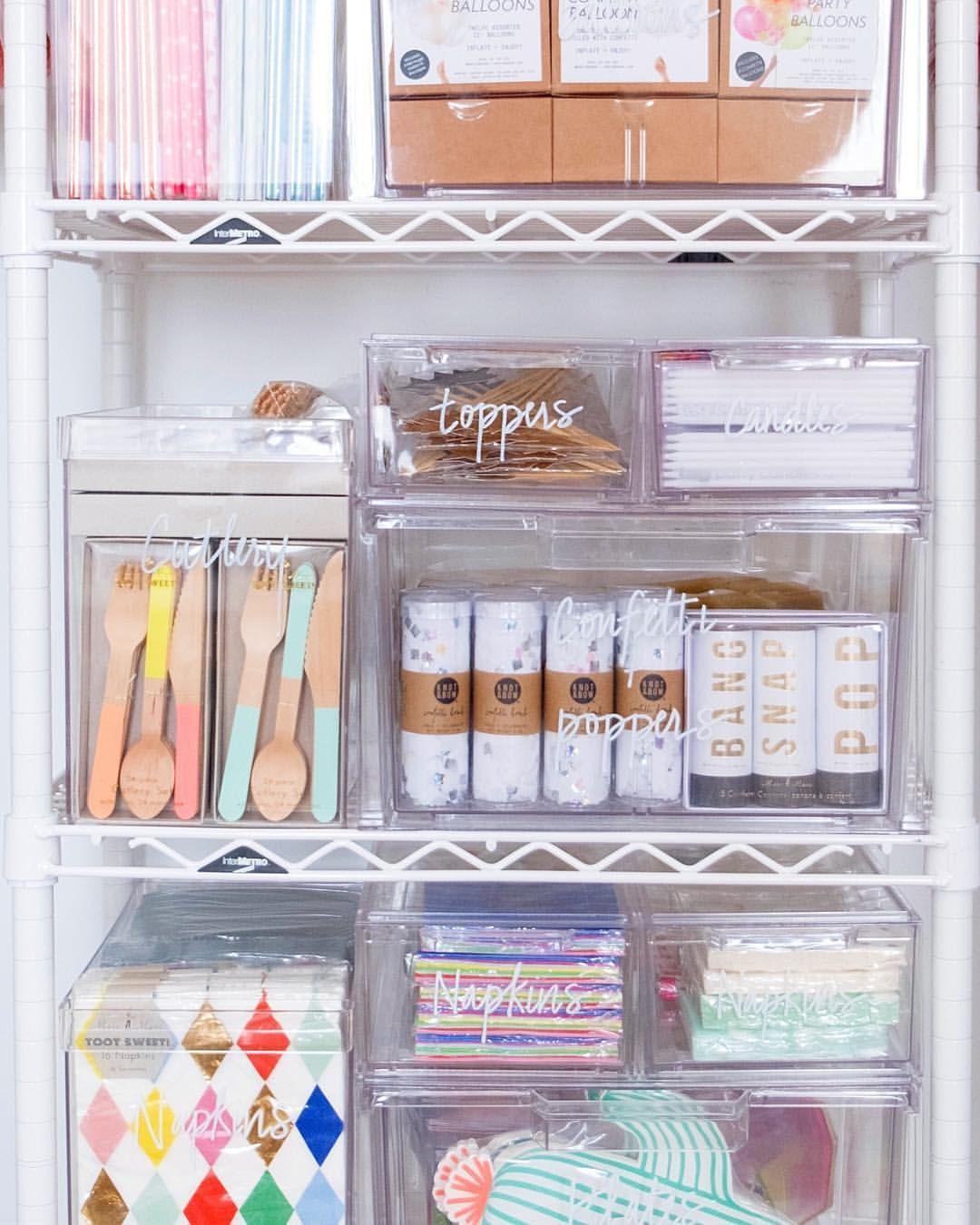 Easily Organize Your Baking Supplies