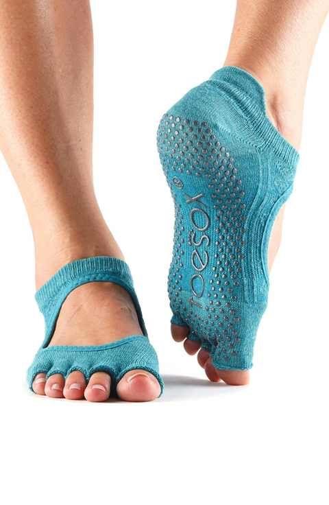 ToeSox 'Bellarina' Half Toe Gripper Socks