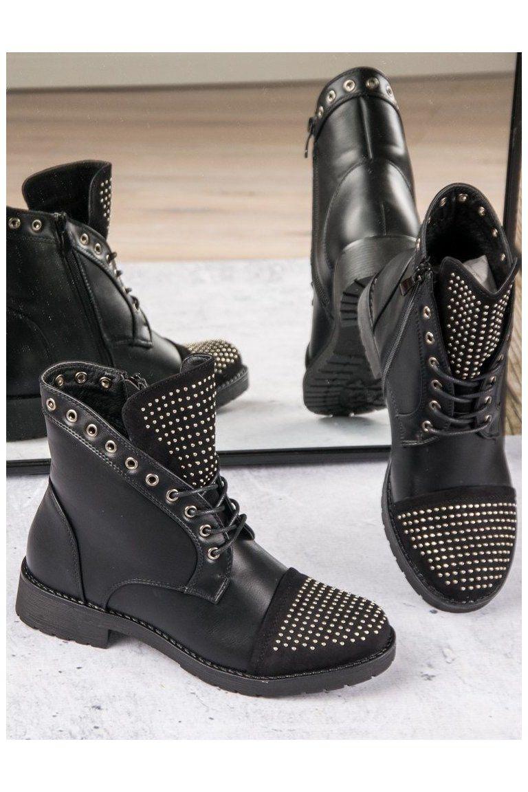 be0b4fcc15873 Rockové čierne workery CnB | Čižmy Workery - NAJ.SK | Shoes, Boots a ...