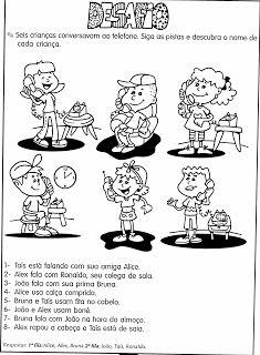 DESAFIOS MATEMÁTICOS. PROBLEMAS ILUSTRADOS. MODELOS DE ATIVIDADES DE MATEMÁTICA PARA 4º , 5º e 6º ANOS | Cantinho do Educador Infantil