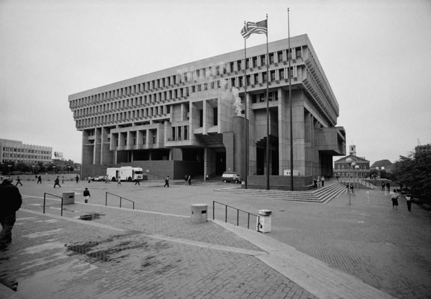 Boston City Hall By Kallmann Mckinnell Knowles Boston Ma Boston City Hall City Hall Architecture Images