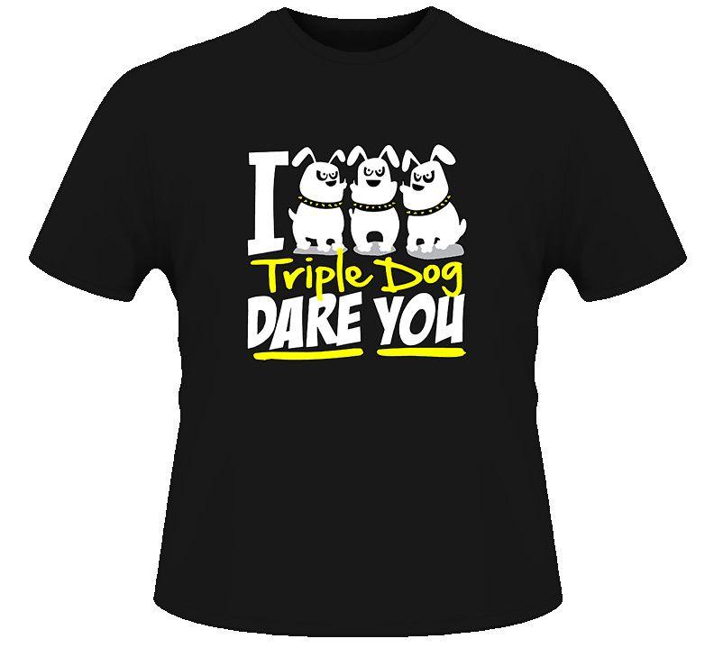 A christmas story triple dog dare t shirt dare t shirt