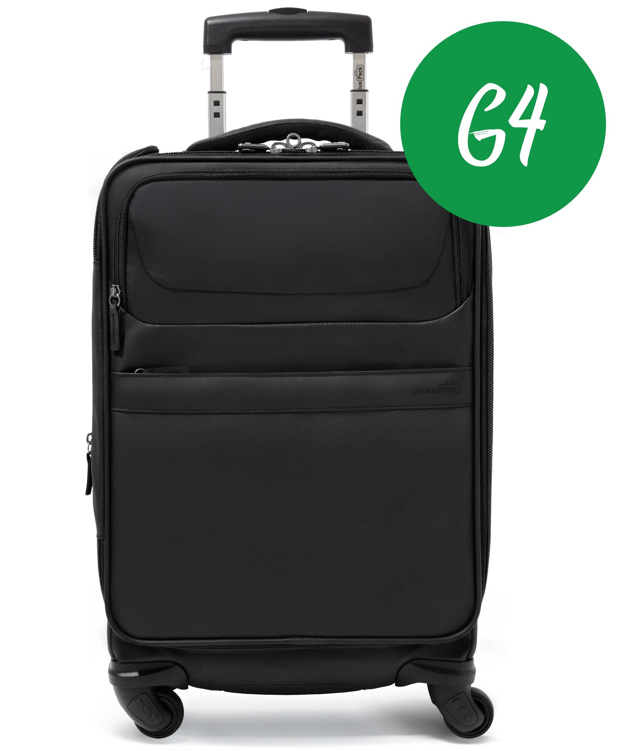 a0e430a8b4 GENIUS PACK G4 CARRY ON SPINNER from Genius Pack