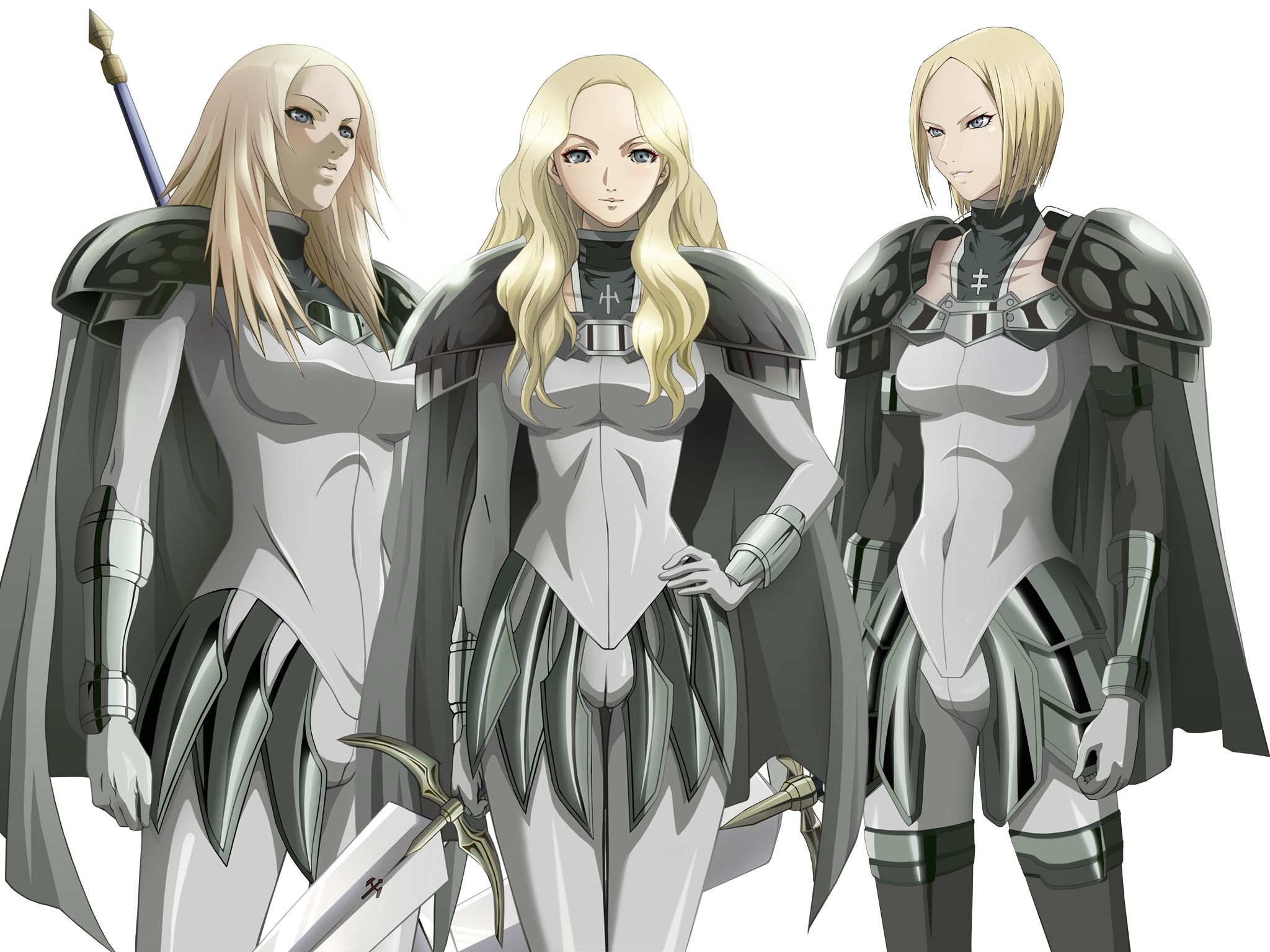 What is your top four Fav Claymores? Claymore Claymore