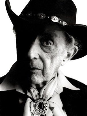 Quentin Crisp by Andy Gotts . Quentin was often our male life model at Goldsmiths in the Sixties, a very proud and dignified man. Alan Jenkins.