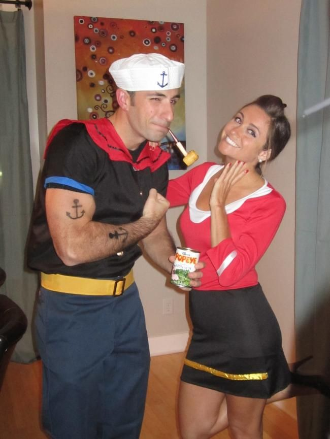 Olive Oyl And Popeye Costumes