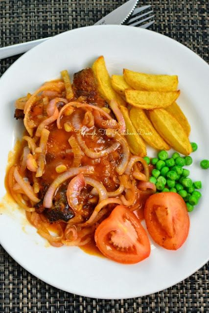 Through The Kitchen Door: Simple Hainanese Chicken Chop   Asian and ...