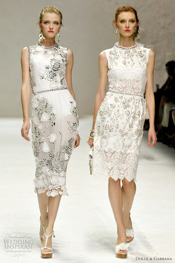 d320cbf7f73 Dolce & Gabbana Spring/Summer 2011 Ready-to-Wear | Fashion History ...