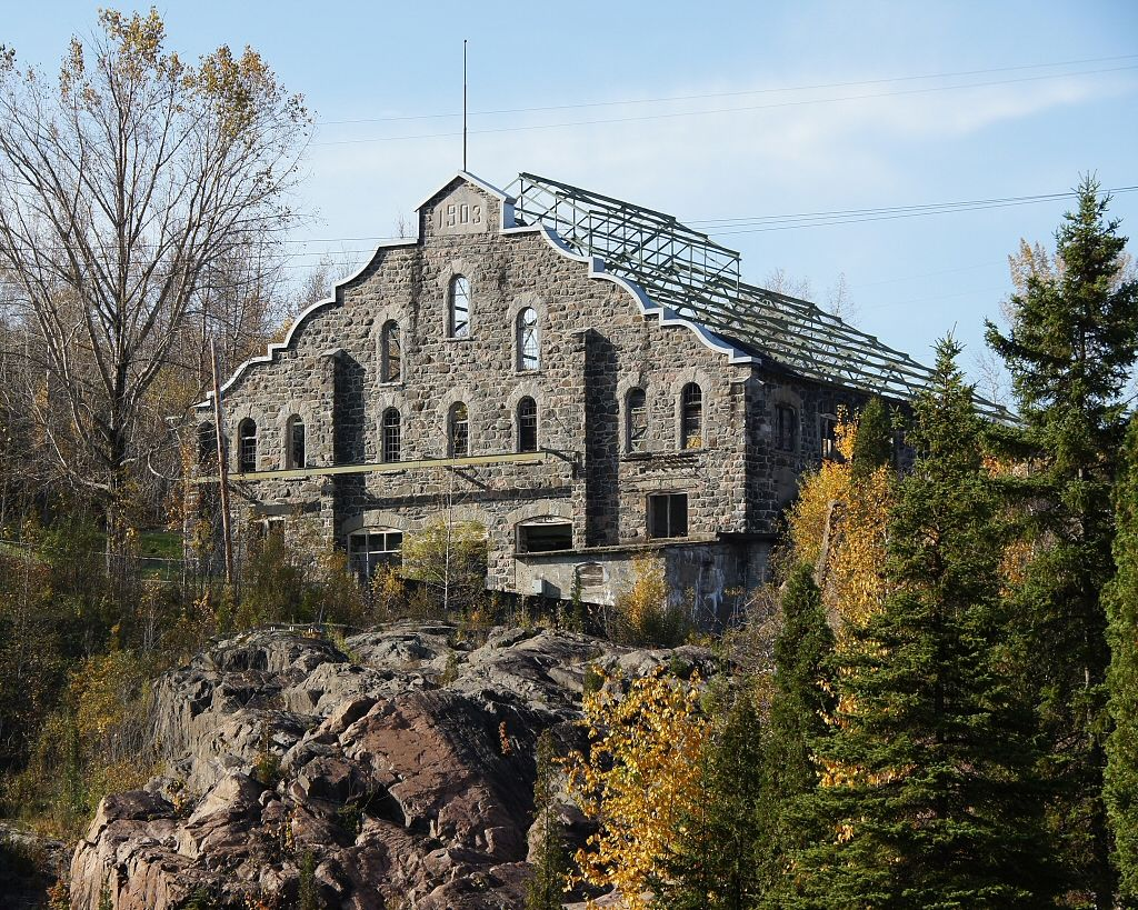 La Pulperie, abandoned pulp mill in Chicoutimi, Quebec