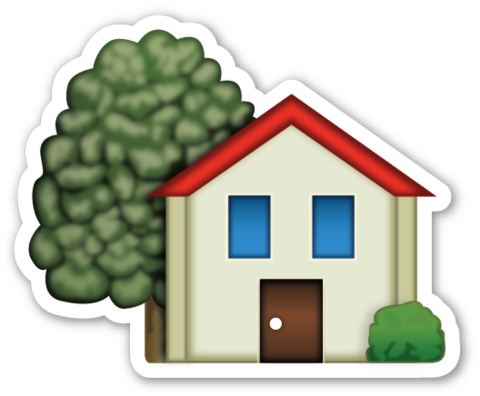 House with garden kartma pinterest emojis emoji for Home building apps for iphone