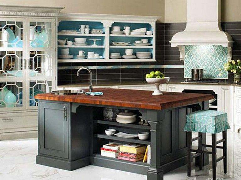 20 elegant kitchens with open shelving with images open kitchen shelves stylish kitchen on kitchen organization elegant id=80924
