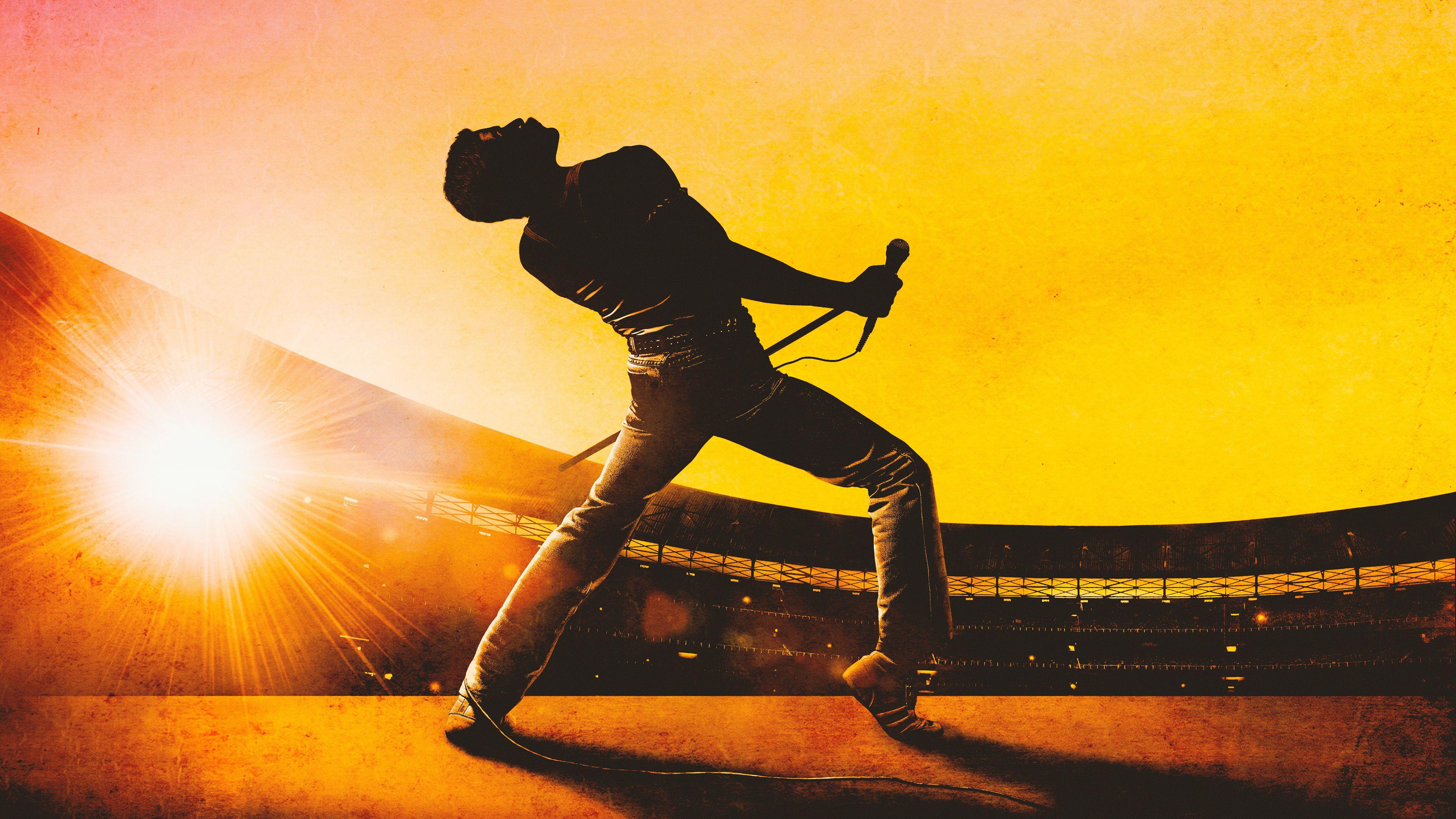 Bohemian Rhapsody 2018 4K Freddie mercury, Rami malek