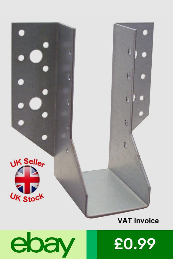 Heavy Duty Face Fix Joist Hangers Hanger Timber Galvanised 2mm Steel 28 Sizes Joist Hangers Furniture Diy Timber
