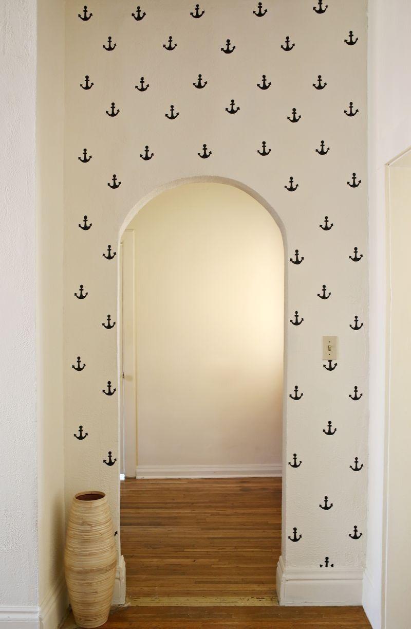 Simple anchor walls