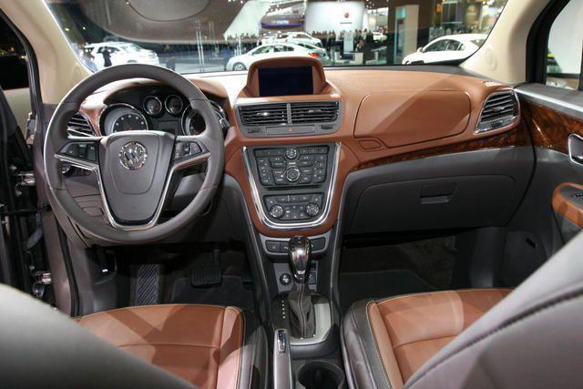 Optional 2 Tone Interior In The 2013 Buick Encore Buick Encore