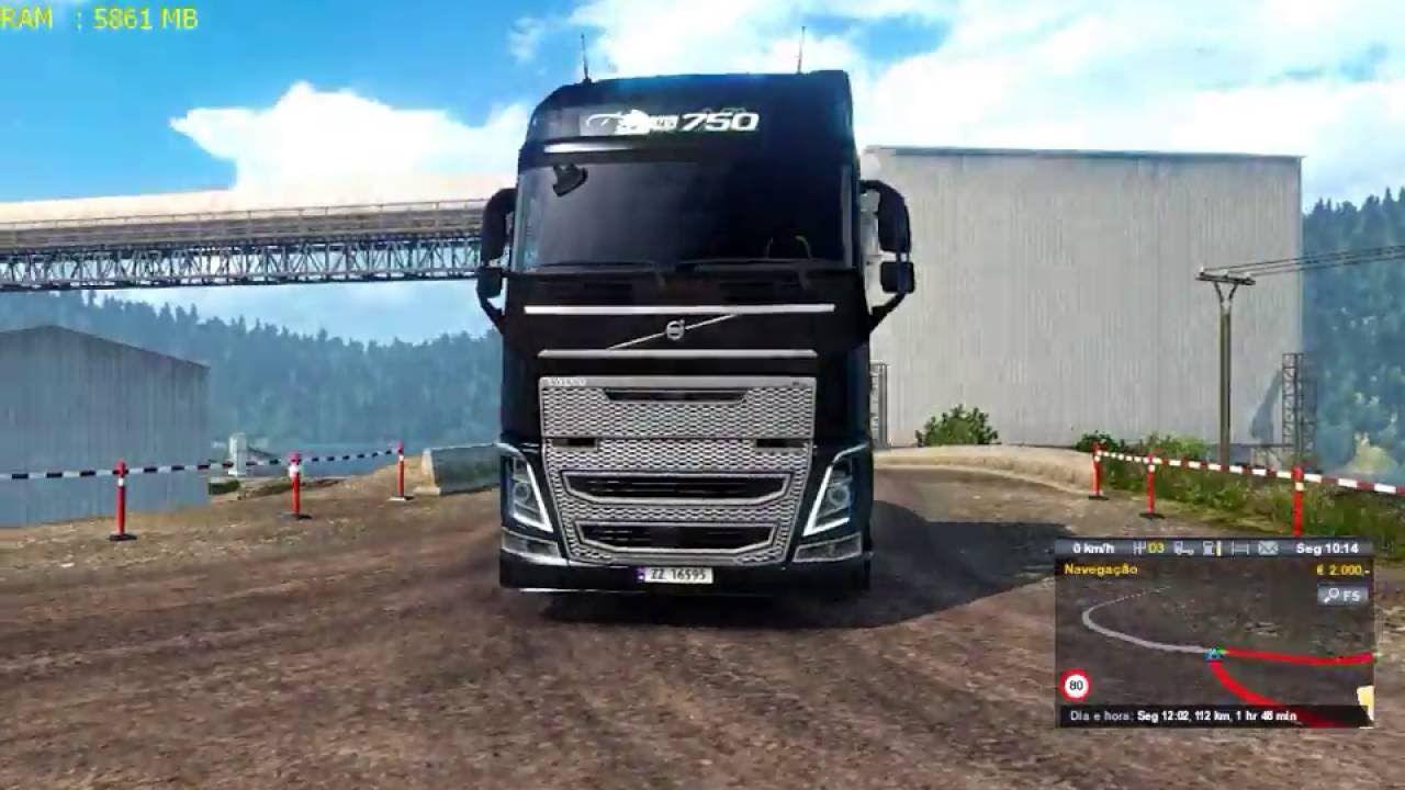 Euro Truck Simulator 2 Mod Graficos Mais Realista 1 24 X Download