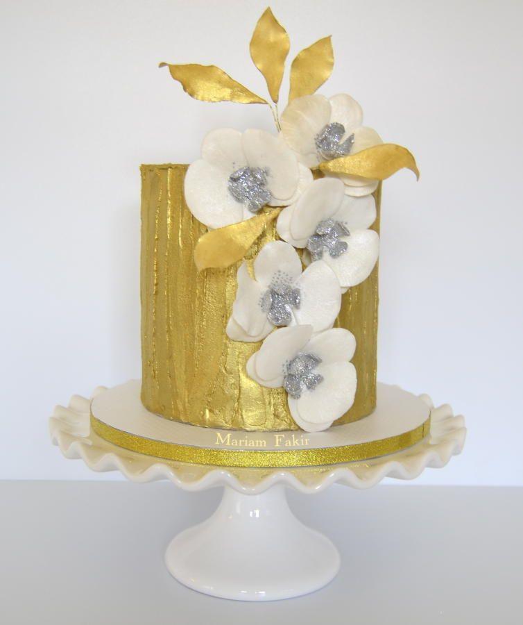 Golden Fantasy   Wedding - The Cake   Pinterest   White chocolate ...