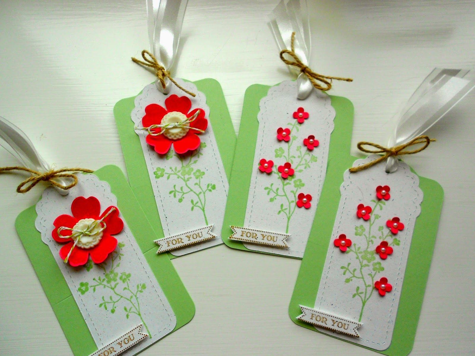 The Firefly Studio: Morning Meadow Gift Tags