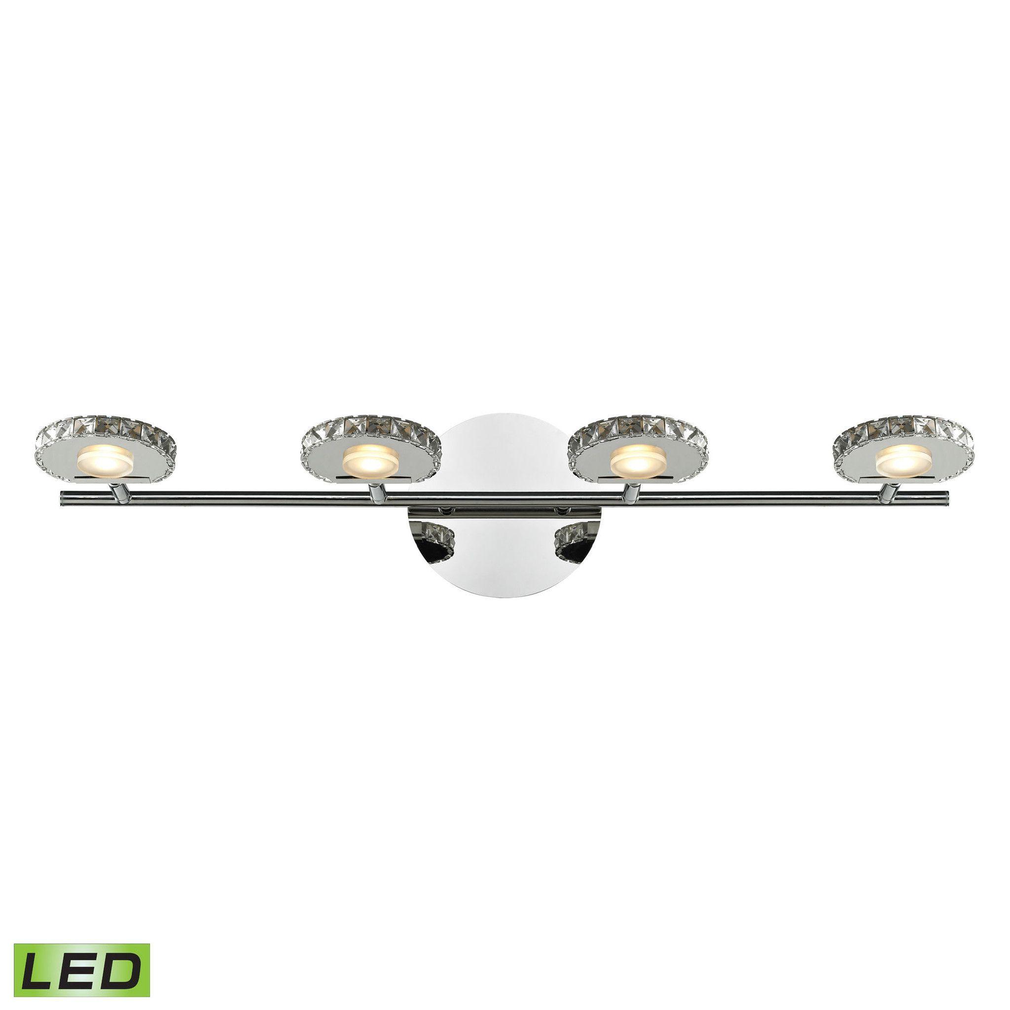 ELK Lighting 54003/4 Spiva Collection Polished Chrome Finish