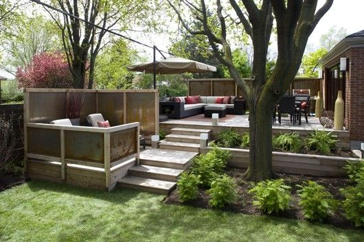Multi Level Backyard By Terri Home Design Pinterest