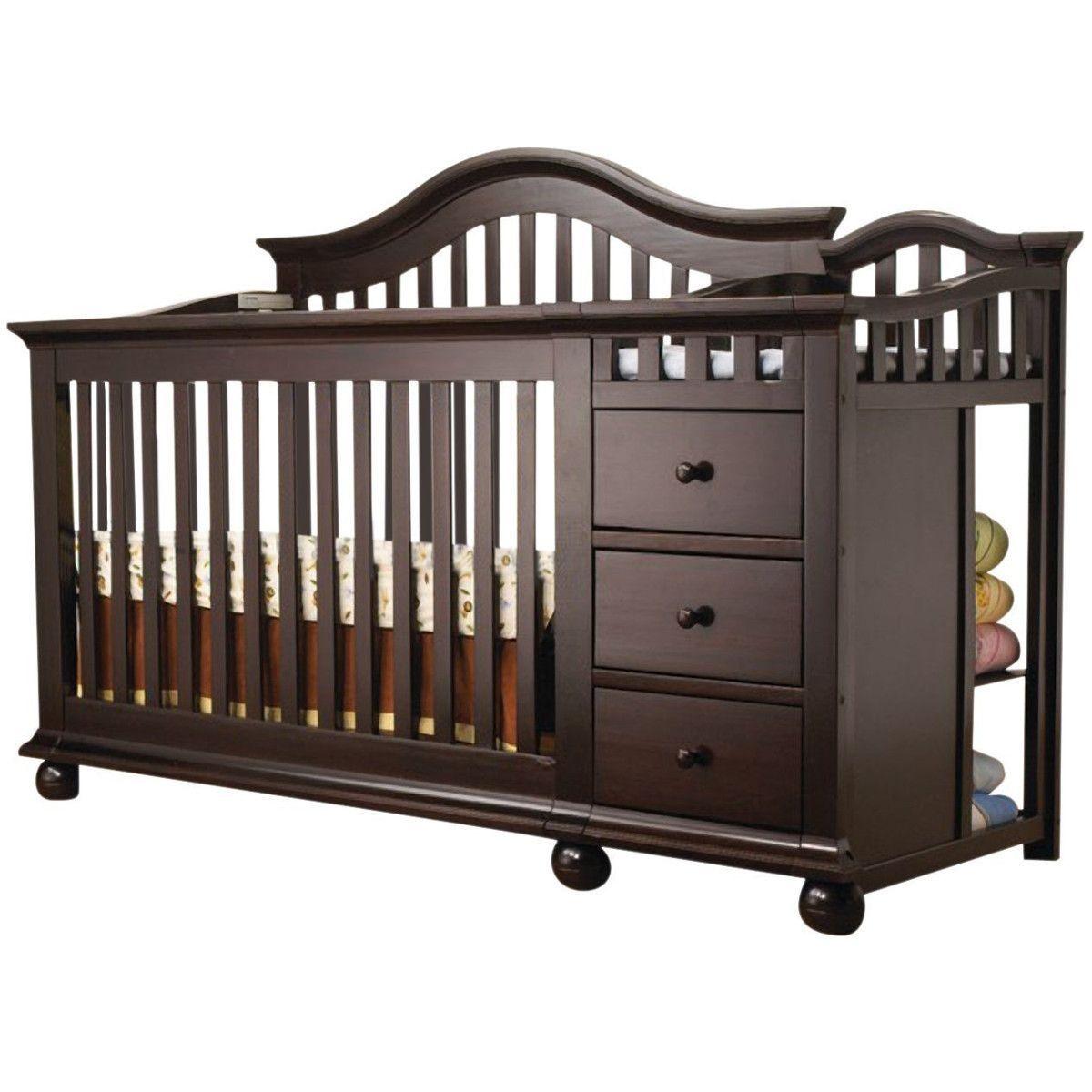 Sorelle CapeCod Crib & Changer in Espresso | Future baby things ...
