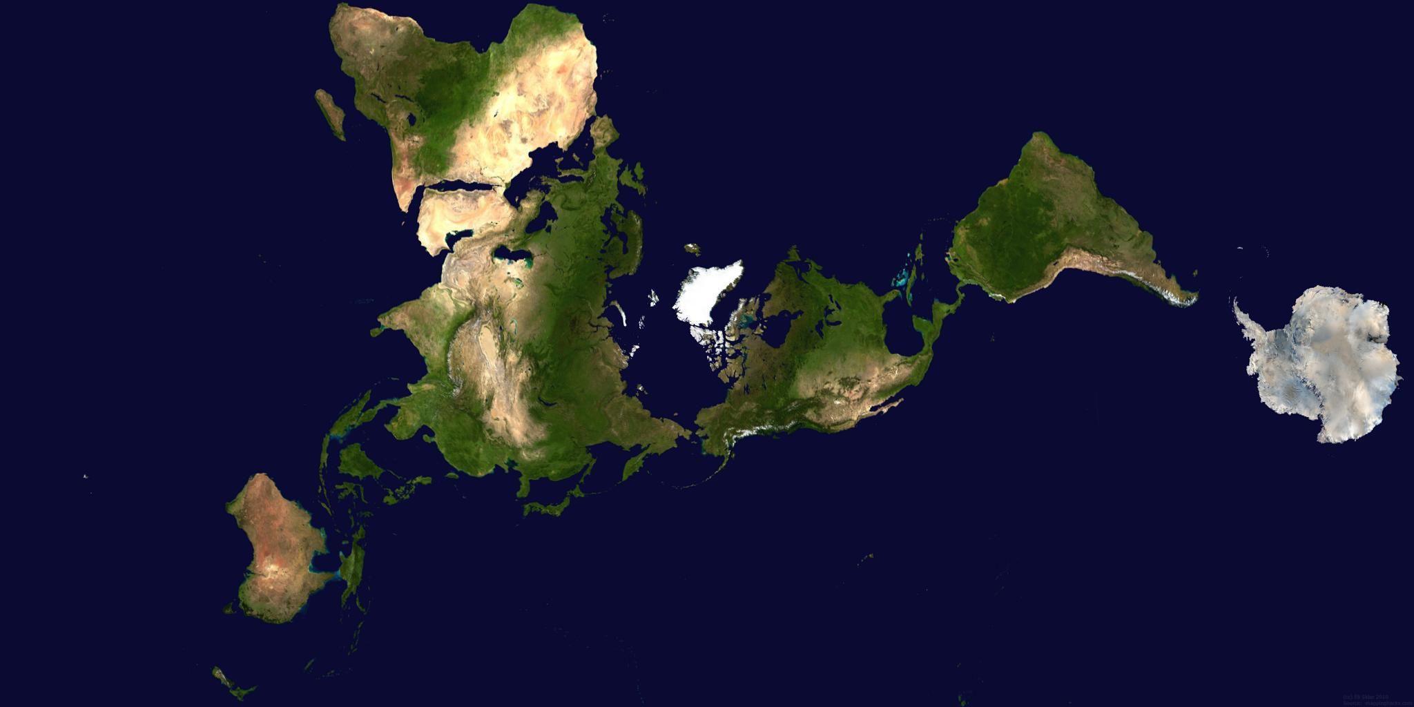 dymaxion map Google dymaxion map