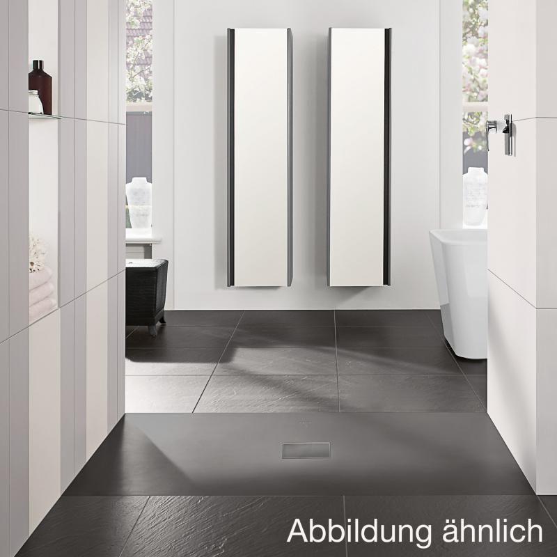 Villeroy \ Boch Squaro Infinity Duschwanne für universal Einbau - badezimmermöbel villeroy und boch