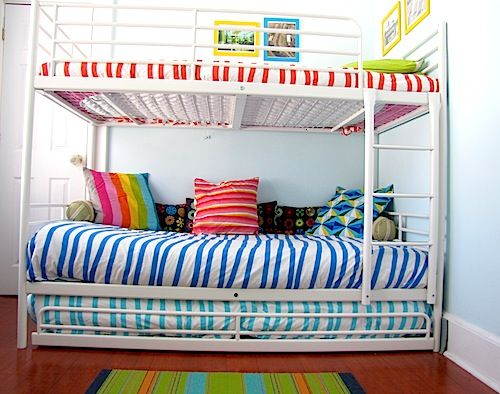 Tromso Bunk With Trundle Ikea Bunk Bed Bunk Beds Bunk Bed Designs