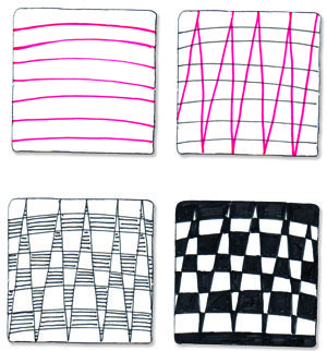 Checkered Zag | Blog SuzanneMcNeill com | Page 3 | Zentangle