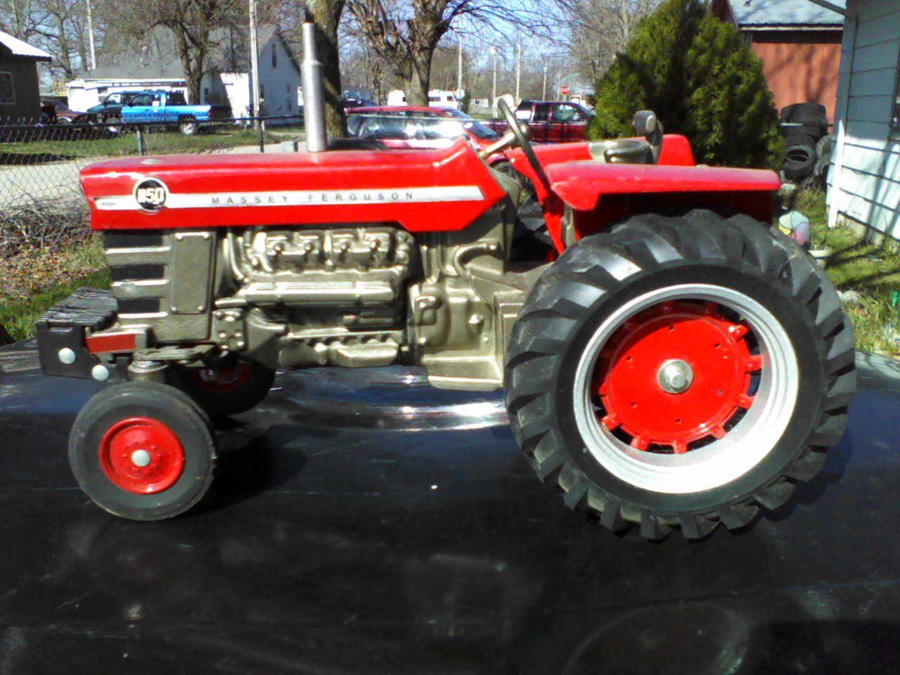 Massey Ferguson 1150 tractor by Scale Models   Farm Toys   Tractors