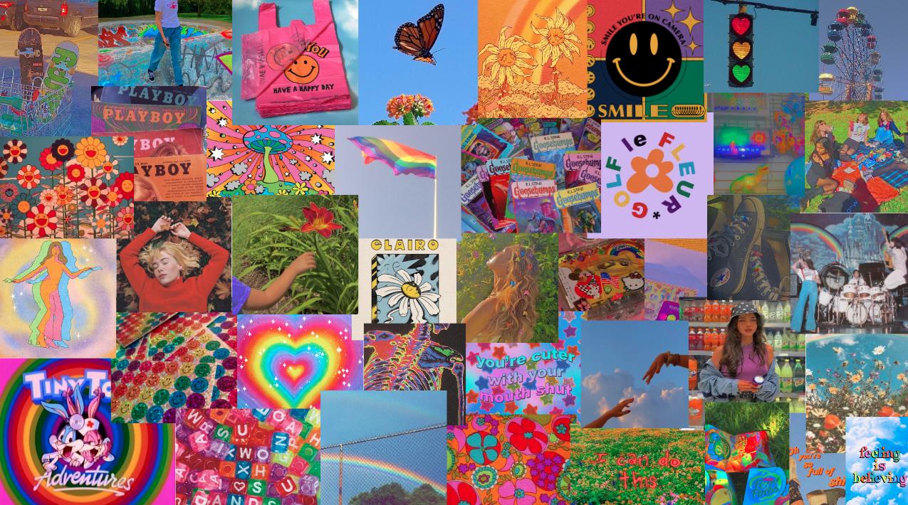 Indie Wall Collage Vintage Desktop Wallpapers Desktop Wallpaper Art Iphone Wallpaper Hipster