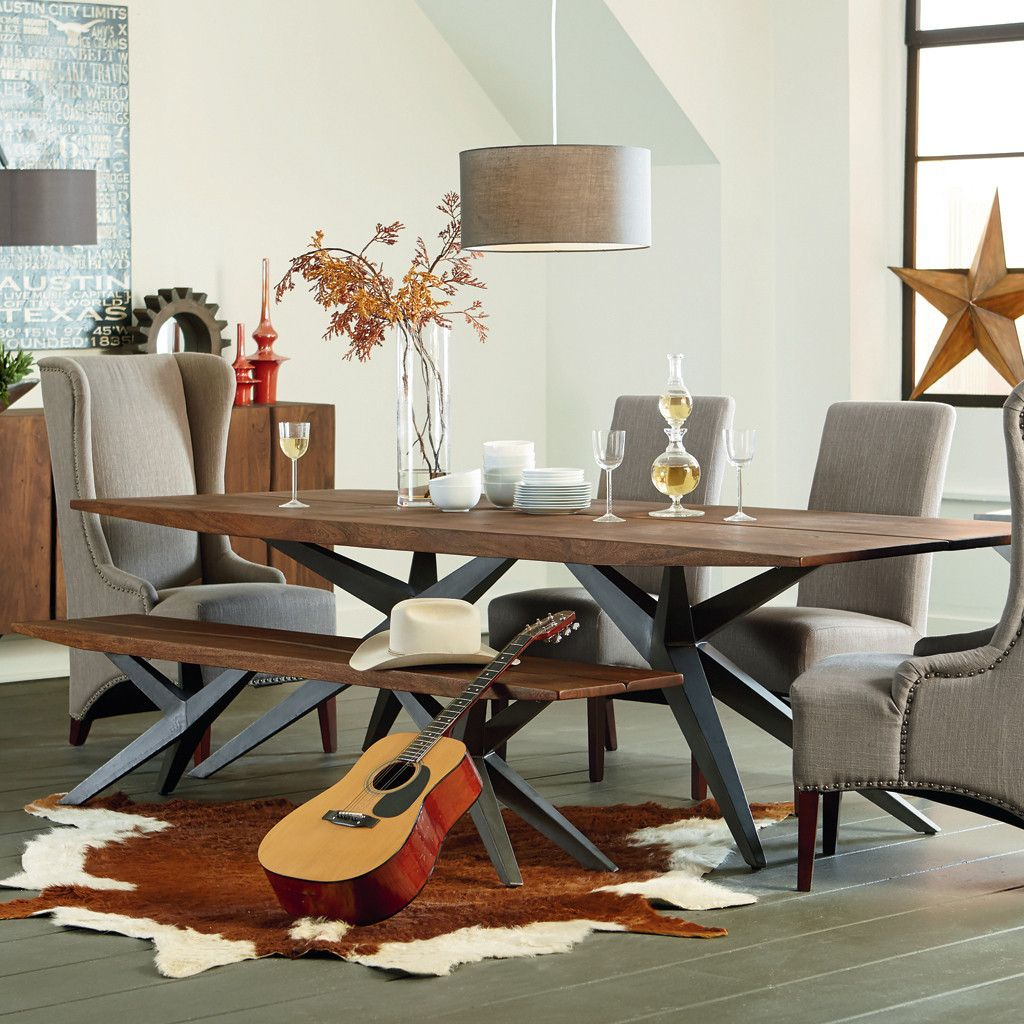 Austin Loft Dining Table Dining Table Loft Dining Room Dining Table In Kitchen