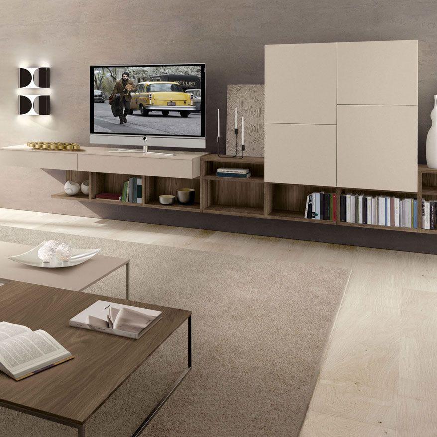 Mueble tv moderno de melamina monopoli zalf casas dise o for Diseno de muebles de oficina modernos