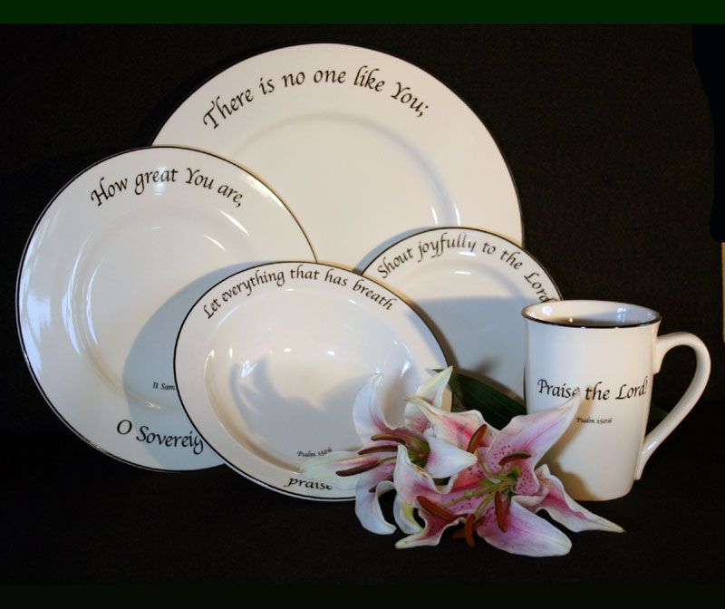 Feed On The Word Tableware Christian Gifts | Inspirational Gifts & Feed On The Word Tableware Christian Gifts | Inspirational Gifts ...