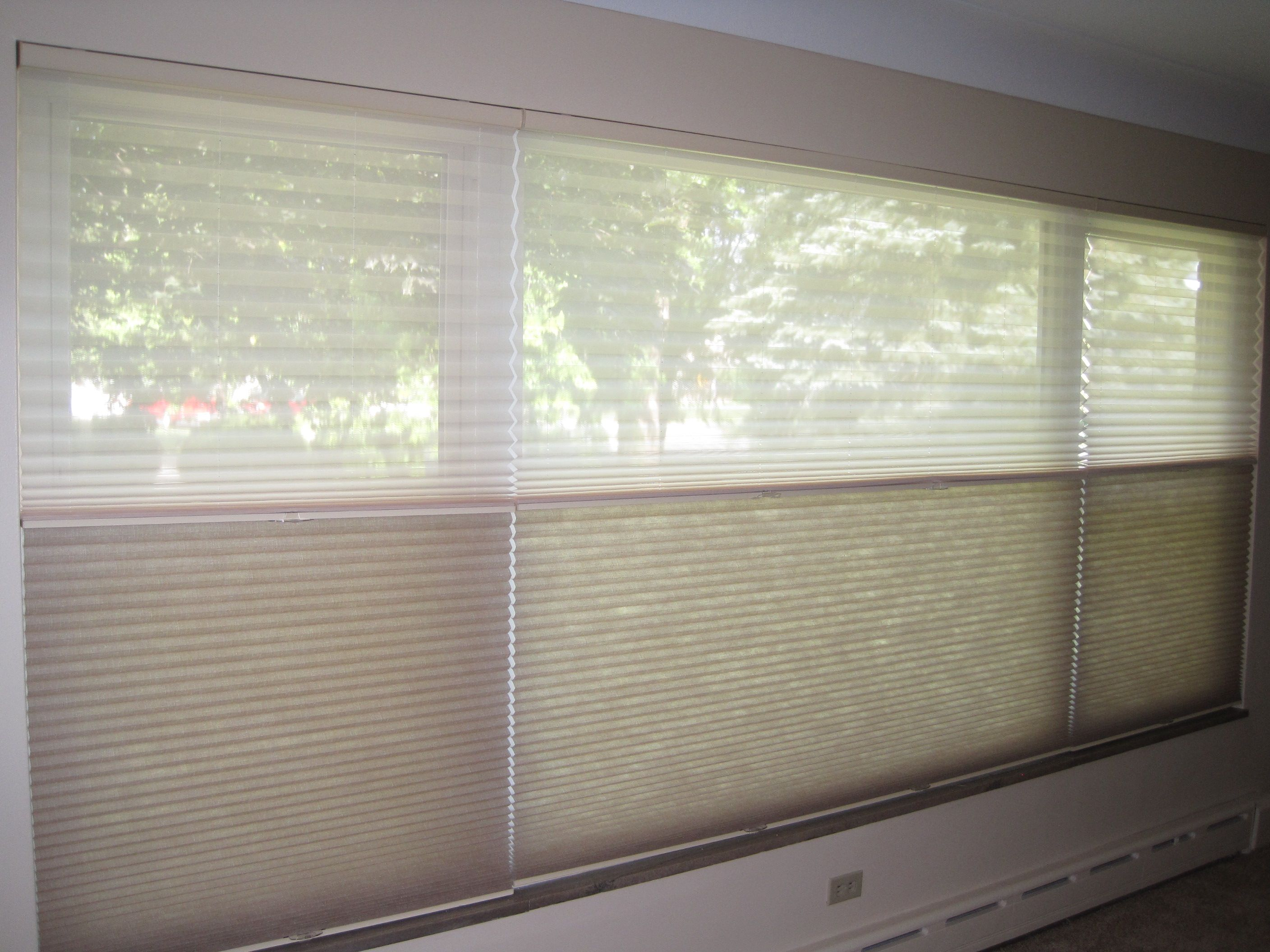 Shades for large windows - This Is The First Trilight Shade We Installed In Toledo Ohio This Is For A