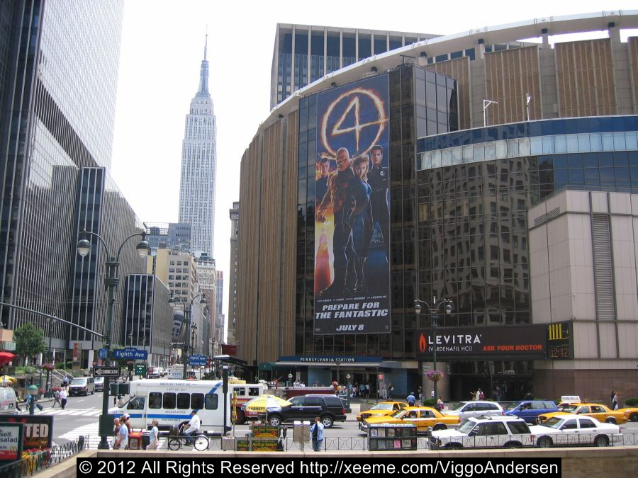 Madison Square Garden, 4 Penn Plaza (7th Ave between 31st and 33rd St)