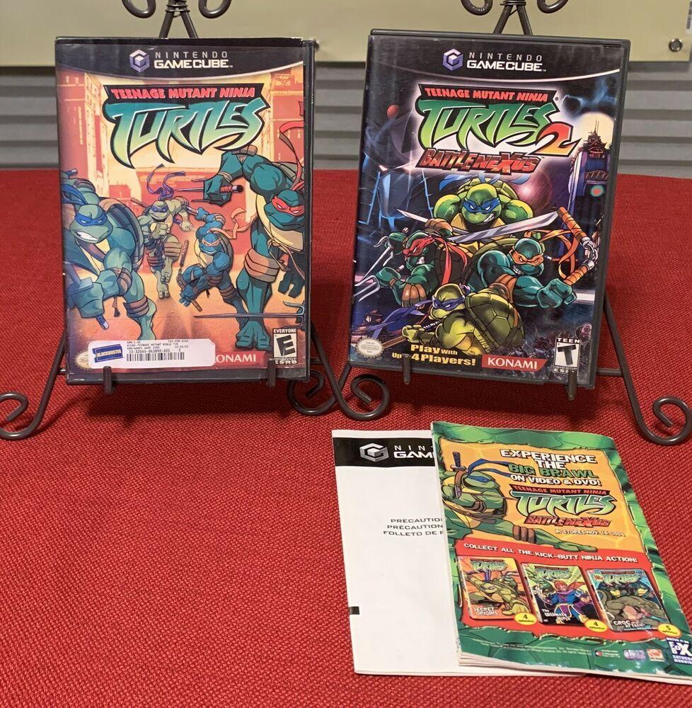 Nintendo GameCube Teenage Mutant Ninja turtles 2