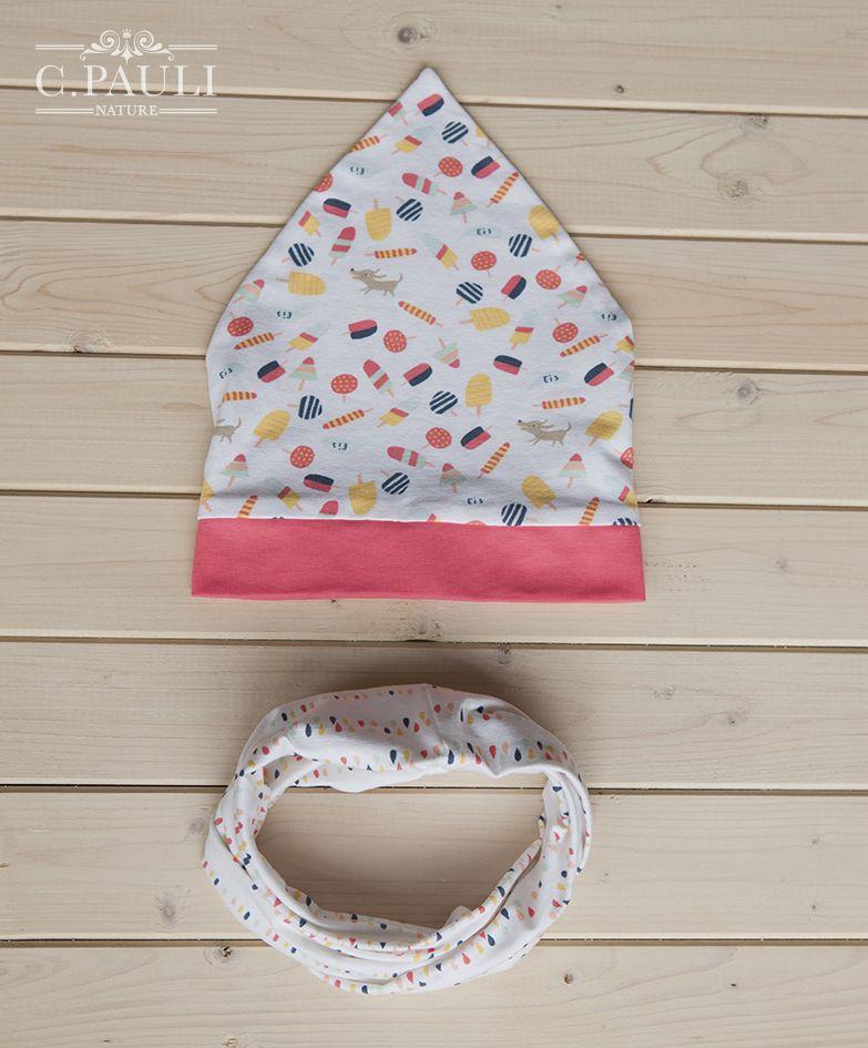 Babykopftuch + Loopschal und Halstuch