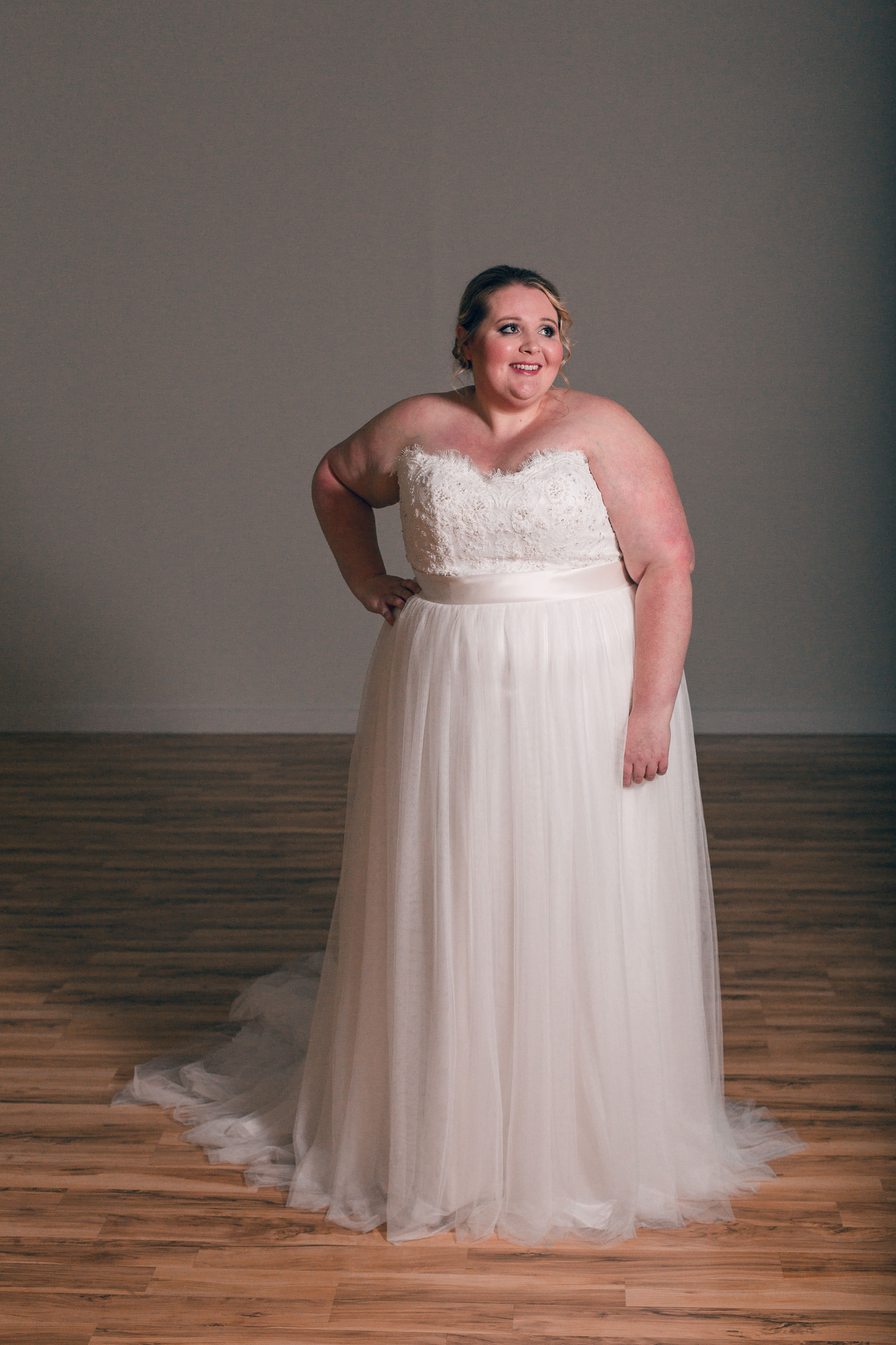 The Curvy Bride Boutique. Tulsa, OK. Casablanca Bridal #2205. ivory ...