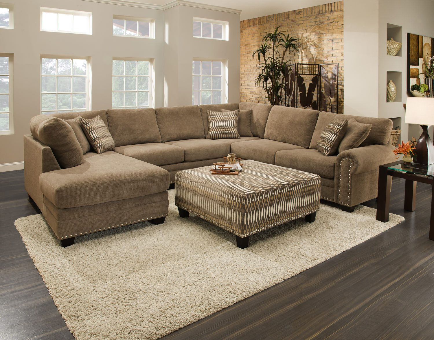 Oates 3 Piece Sectional Hom Furniture Home Sectional