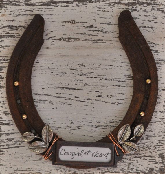 Western Horseshoe Home Decor Cowgirl Gift Rustic Ranch Home