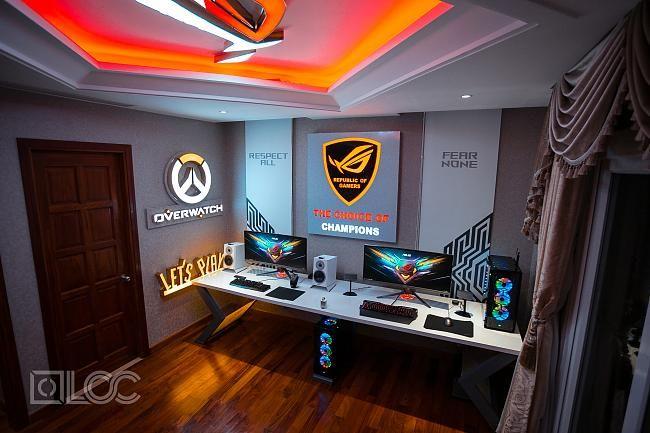 Best Gaming Setups 2018 Rgb Setups Gaming Room Ideas Gaming