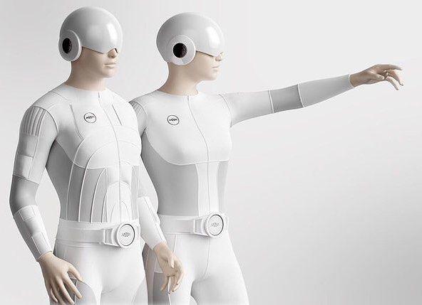 An awesome Virtual Reality pic! Teslasuit schaut aus als käme es frisch aus einem Sci-Fi-Movie ist aber der weltweit erste Virtual-Reality-Komplettkörper-Anzug. Leichte elektrische Impulse sollen die Haut Muskeln und Nerven stimulieren darüber hinaus sind Bewegungssensoren und Temperatursteuerungen verbaut die den Anzug zwischen 10 und 40 Grad Celsius regulieren können. Ein 1 GHz Prozessor mit 1 GByte RAM und eine 10.000 mAh Batterie sind im Gürtel des Anzugs verbaut. Teslasuit ist ab sofort…