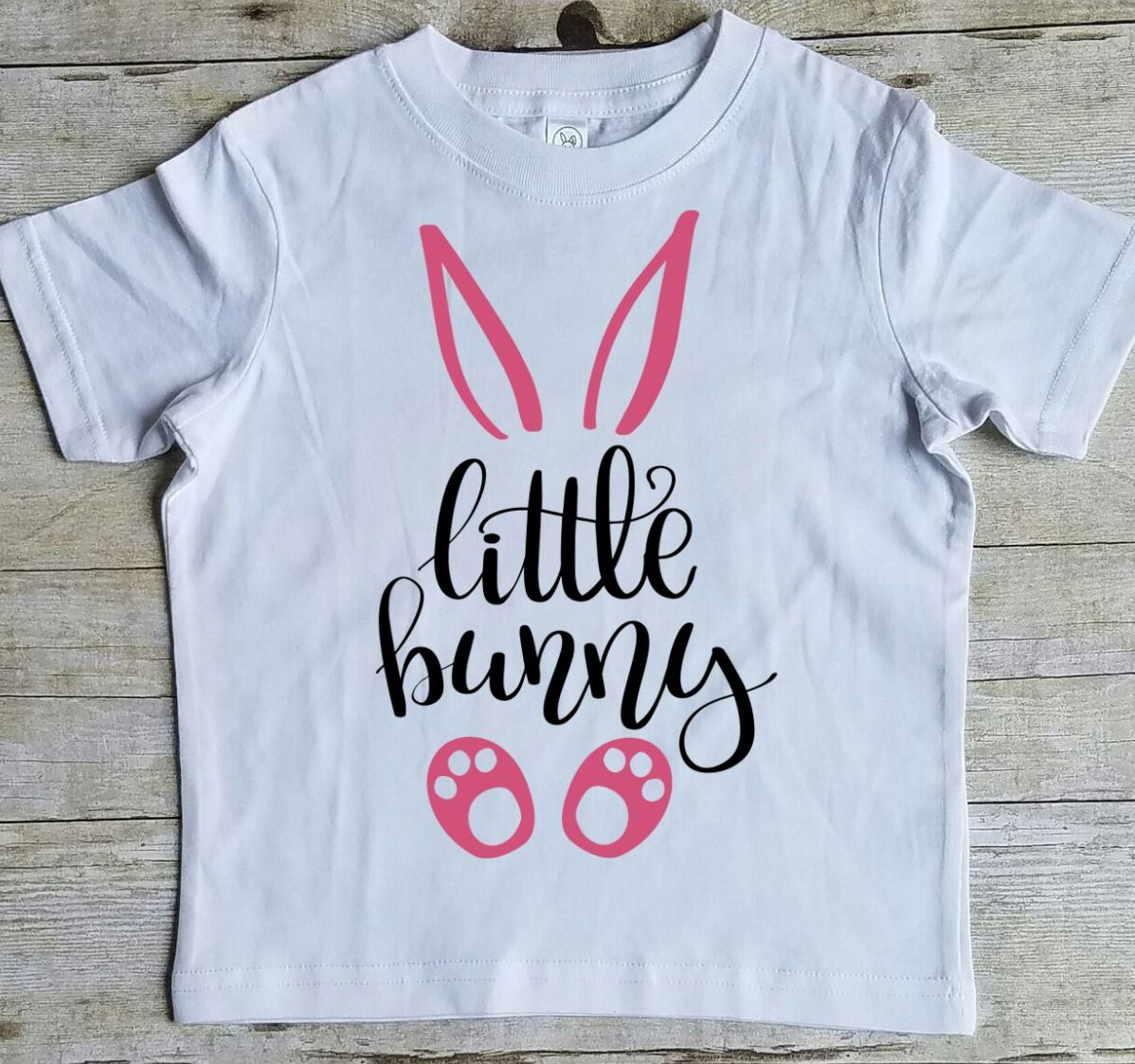 Little Bunny Shirt, Easter Shirt for Girls, Cute Easter