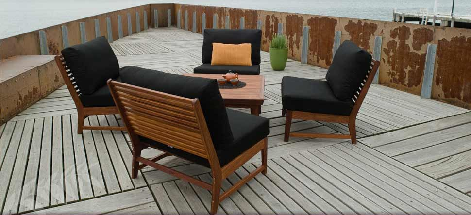 S2DIO - great setting for outdoor casual | The Outdoor Room | Pinterest