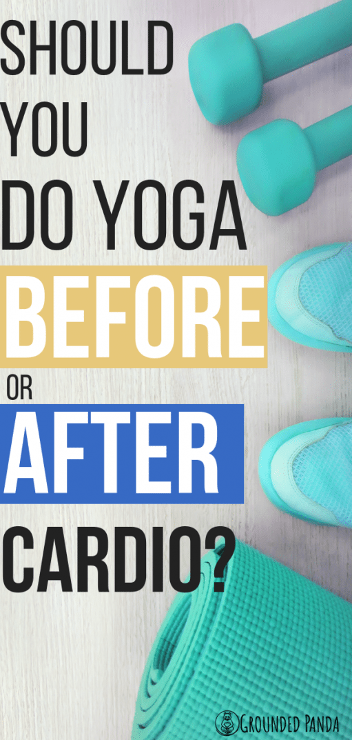 Yoga is an amazing form of exercise that is easy on the body. Some people love incorporating cardio and in this article we find out if we should do cardio before or after yoga.