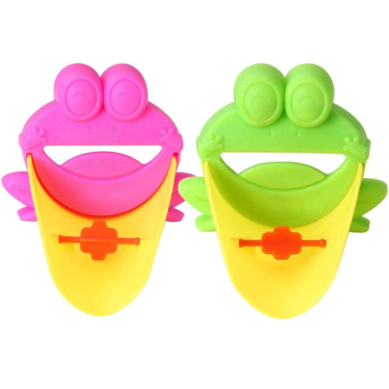 Kup Teraz Na Allegro Pl Za 15 40 Zl Przedluzka Kranu Dla Dziecka Zabka Wysylka Gratis 7253830904 Allegro Pl R Faucet Extender Sink Faucets Frog Bathroom
