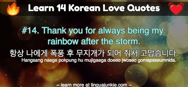 Learn 14 Korean Love Quotes Hangul English Translations 한국어