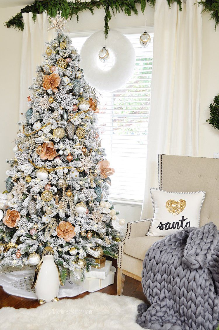 Feb 7 How to Decorate With Pink | Holidays, Christmas tree and Xmas
